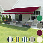 3 x 2.5m Manual Awning Patio Garden Sun Shade Shelter Retractable Greenbay