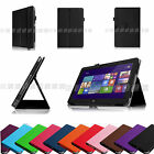 For Dell Venue 11 Pro ( Windows 8.1)  64GB Tablet Folio Cover Slim Leather Case