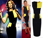 Womens Celeb Wear To Work Club Office lady Career Bodycon Fitted  Pencil Dress
