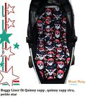 Buggy Liner fit/suit for quinny zapp /quinny zapp xtra  - petite star