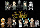 STAR WARS ANIMATED CHARACTERS A3 A4 POSTER