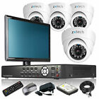 4 x Sony Effio-E Camera Full 960H 4 CH DVR CCTV Kit Motion Detection Monitor UK