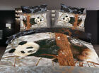 PANDA Queen/King Size Bed Quilt/Doona/Duvet Cover Pillowcases Set New
