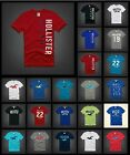 New Hollister by Abercrombie Men Hobson T-shirt Graphic Muscle Fit All Size