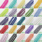 Wholesale 3/4/6/8/10/12/16MM Top Quality Czech GLASS PEARL Round & Loose Beads
