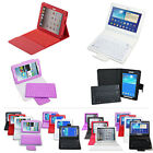 New Bluetooth Keyboard For Samsung Galaxy Tab2/3 7.0/10.1 Tablet Flip Case Stand