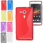 Soft TPU Rubber Gel S-line Back Case Cover Skin for Sony Xperia SP M35h C5302