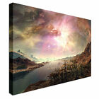Beautiful nebula landscape Wall Art Print Large + Any Size