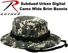 Subdued Urban Digital Camouflage Military Tactical Wide Bucket Boonie Hat 5839