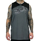 SULLEN CLOTHING FLAKS JERSEY  TATTOO SCENE INK SKULL T SHIRT TANK TOP