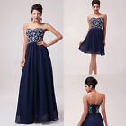 GK Long/Short Appliques Prom Gown Evening/Formal/Party/Cocktail/Prom Dress JS
