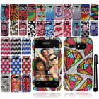 For Kyocera Event C5133 Safari Dots DIAMOND BLING Crystal Hard Case Phone Cover