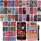 For Motorola DROID RAZR M XT907 DIAMOND BLING Crystal Hard Case Phone Cover