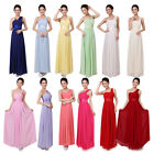 Sexy Womens Long Formal Bridesmaid Prom Dress Wedding Dresses Evening Ball Gown