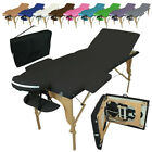 LINXOR FRANCE ® TABLE DE MASSAGE PLIANTE 3 ZONES + HOUSSE TRANSPORT / 7 coloris, occasion