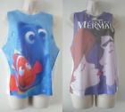 ♥ BNWT ♥ PRIMARK ♥ DISNEY CHARACTER OVER SIZED VEST / TOP / BAGGY ♥ SIZES 6 - 20