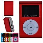 Mini Clip Metal MP3 Music Player With LCD Screen Support TF Card Slot + Earphone