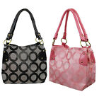 Choose 1 Gray/Pink Women Fashion Shoulder Messenger Handbag Tote Crossbody Purse