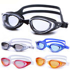 Plain Plating Anti-Fogging Anti UV Training Swimming Goggles Swim Glasses
