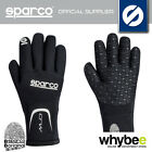 NEW! 00258 SPARCO CRW NEOPRENE WATER & COLD RESISTANT KART KARTING GLOVES