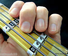 Bass Guitar Fretboard Note Labels Fret Stickers + Online Lessons & Learning Aids