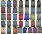 ARROW long short sleeve Twill shirt button-front 1-2 pocket Colors Cotton Poly