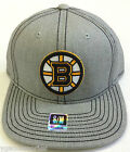 NHL Boston Bruins Reebok Cotton Flat Brim Cap Hat NEW