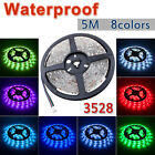 5M 300 LED Strip Light 3528 5050 SMD/RGB Ribbon Tape Roll Waterproof IP65 12V UK