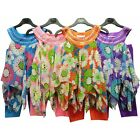 Girls Hanky Dress Top Set Kids floral Print Summer Outfit New Age 3-12 Yrs