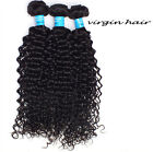 3 Bundle human hair Peruvian Kinky Curly Hair Weaves Hair Extension Unprocessed