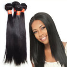 3 Bundles Brazilian Virgin Hair Extension Silky Straight human Hair Unprocessed