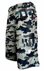 MTB OFF ROAD CYCLE / CYCLING / BIKE SHORTS PADDED DETACHABLE LINER SHORTS CAMO