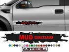 Truck Door MUD EDITION decal Graphic Bed Stripe fit SUV 4x4 car truck