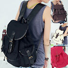US Retro Vintage Travel Canvas Backpack Sport Rucksack Satchel School Hiking Bag