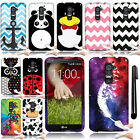 For LG Optimus G2 D800 D801 D802 LS980 TPU SILICONE Rubber Case Cover + Pen