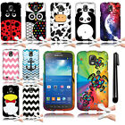 For Samsung Galaxy S4 Active I537 I9295 Image TPU SILICONE Case Phone Cover +Pen