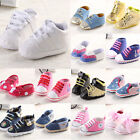 Hot Noble Newborn Infant Toddler Baby Girl Soft Sole Crib Shoes to 0-18Months$