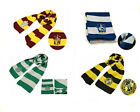 New Harry Potter Wool Scarf HOGWARTS HOUSE Costume Cosplay Halloween Xmas Gift