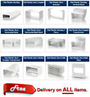Flat / Rectangular Ducting 110 x 55 for Ventilation Extractor Fans Heat Recovery