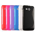 For Huawei Ascend Y511 S Line Skidproof Matte Gel Skin Rubber case cover