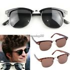 Fashion Retro Sunglasses Vintage Shades Oversize Women Designer Spectacle C1MY