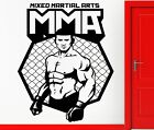 Wall Stickers Vinyl Decal MMA UFC Cage Fighter Man Fight Cool Decor (z1949)