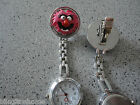 Cookie Elmo Animal Bert Big Bird Smile Vet Nurse Watch Clip on Sesame Street