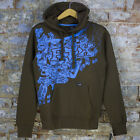 Fox Metamorphasis Casual/Sport/Bmx/MTB Hoodie Dark Brown Size S