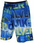 "Quiksilver Men's Good Day 21"" Diamond Dobby Dlx Board Shorts-Blue"