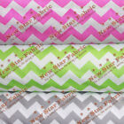Poly Cotton Chevron Fabric 58 Wide By The Yard