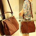 1PC New Retro Ladies' Shoulder Purse Handbag Totes PU Leather Women Bag