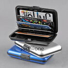 Credit Bank ID Business Card Holder Deluxe Aluminium Wallet Purse Protect Case