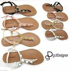 NEW Women's Fashion Summer Shoes Thong T-Sandals Open Toe Strappy Comfort Casual