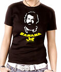 B09  Damen Tee schwarz Fit 63 Bomber  buddy Bud Spencer Hill Mücke Banana Joe